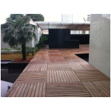 quanto custa deck de madeira modular na Vila Romana