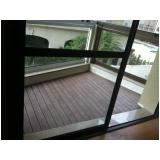 quanto custa deck de madeira para varanda de apartamento em Amparo