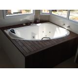 quanto custa deck de madeira plástica para spa Suzano