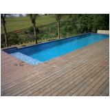 quanto custa deck de madeira vertical em Interlagos