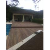 quanto custa deck de plástico imitando madeira Campo Grande