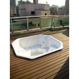 quanto custa deck ecológico para spa na Vila Clementino