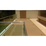 quanto custa deck em PVC Morro Grande