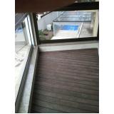 quanto custa deck para varanda Parque São Domingos