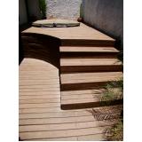 quanto custa piso deck de madeira em SP em Pirituba