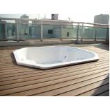 quanto custa piso deck de madeira para spa na Sé
