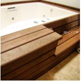 quanto custa piso deck ecológico para spa na Vila Augusta
