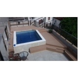 quanto custa piso deck estilo madeira Parque do Carmo