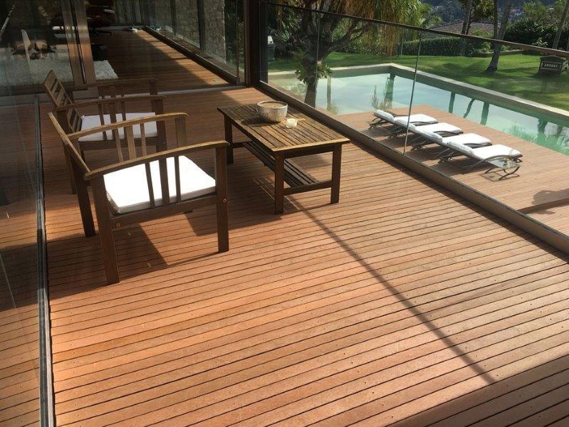 Deck de madeira plastica wpc